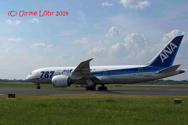 JA805A All Nippon Airways Boeing 787-8 Dreamliner