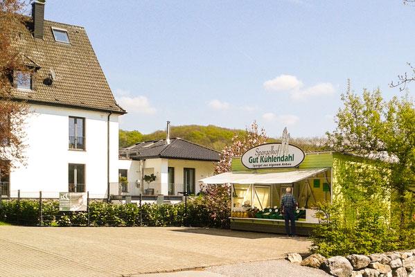 Der Spargel Verkauf auf dem Spargelhof Kuhlendahl