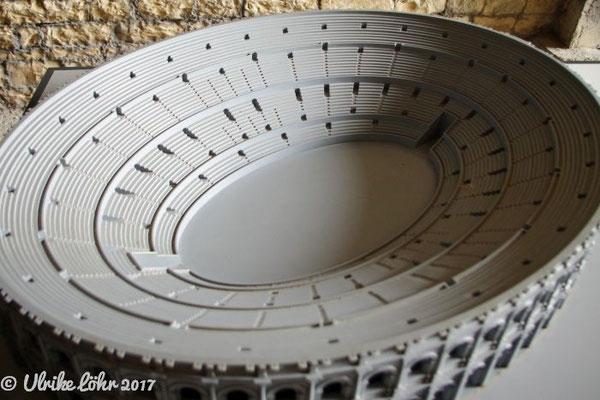 taktiles Modell der Arena in 3D