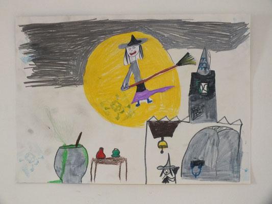 dessin d'Halloween