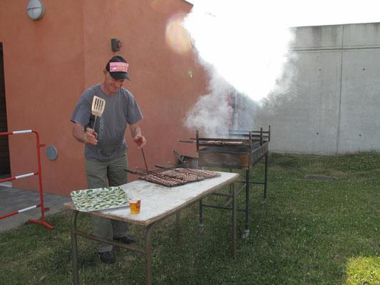 Cuisson des saucisses