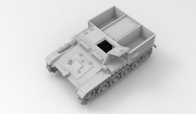 Das Werk Gepanzerter Munitionsschlepper VK3.02 Concept Art