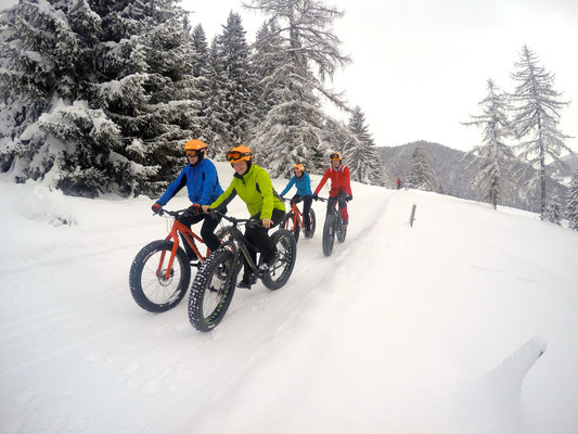 Alpine Fatbike winter ride