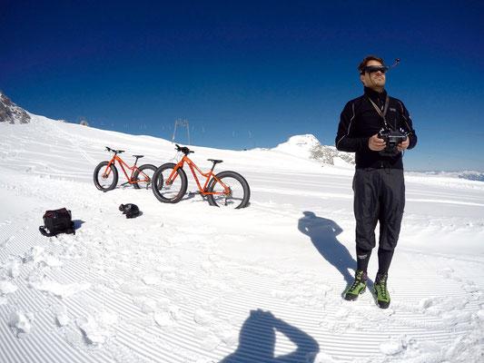 Alpine Fatbike drone dji