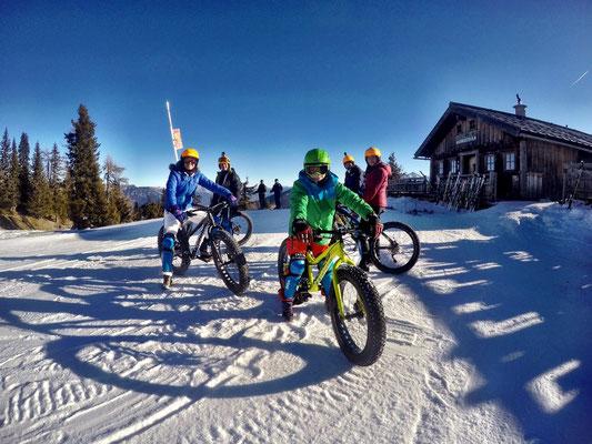 Alpine Fatbike Hochwurzen Downhill Children