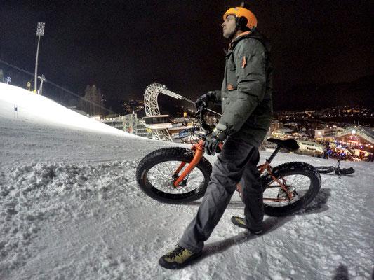 Alpine Fatbike Planai Show