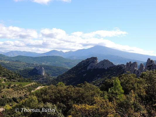 Landschaft bei Gigondas