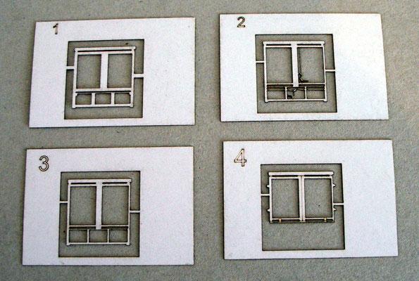 Beispiel für die aufwändiger gewordene Laser- Ausführung der Waggons anhand der Türmechanik.