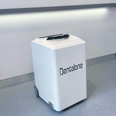 NSK Dentalone mobile Behandlungseinheit im Zahnzentrum Fiedler Kenzingen, Koffer, Hausbesuch, Zahnarzt Behandlung außer Haus