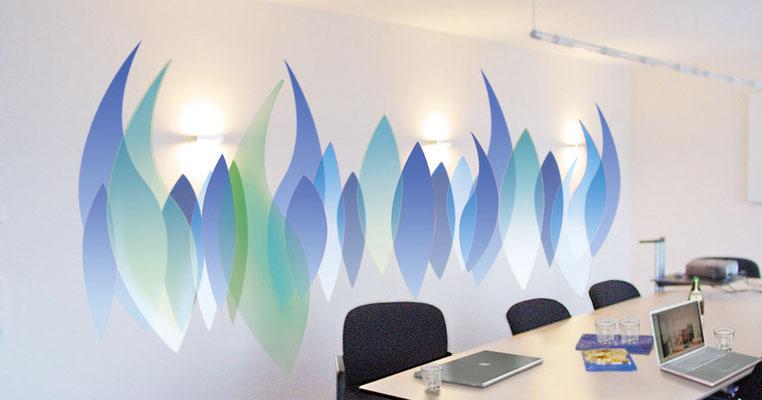 Tagungsraum eines mittelständigen Energie-Unternehmens in NRW.