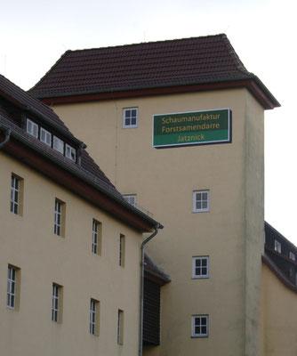 Die Forstsamendarre und Schau-Manufaktur in Jatznick, Vorpommern.