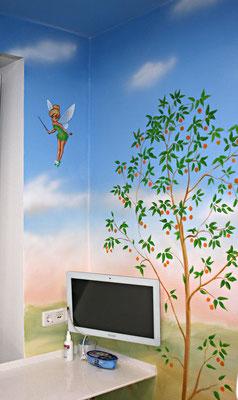 Baum mit Elfe Tinkerbell.