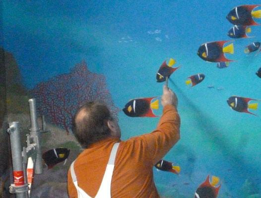 Ausarbeitung: Malen der Fische.