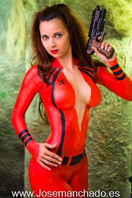 fotografo madrid, bodypaint diana v, bodypaint v series, cosplay diana v, cosplay hot, cosplay nude, cosplay erotica