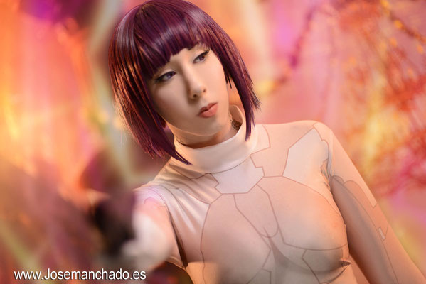 cosplay motoko kusanagi, cosplay ghost in the shell, fotografo only fans madrid, cosplay gits, masamune shirow, cosplay masamune shirow