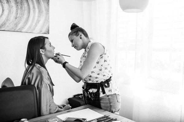 Braut 2019 Aline Make-Up Nadja Thoma