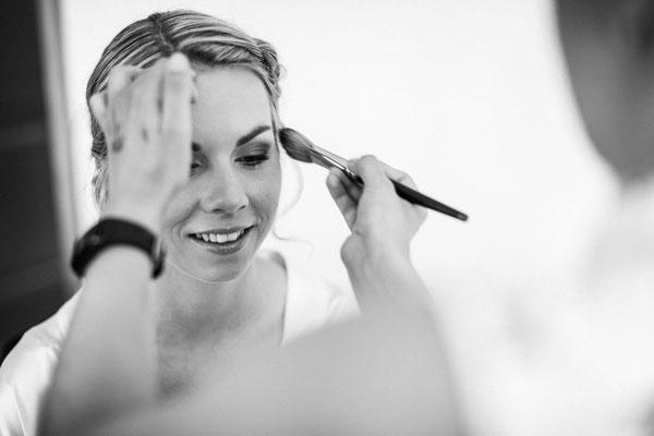 Braut 2019 Aline Make-Up Nadja Thoma Fotos Nina Kälin