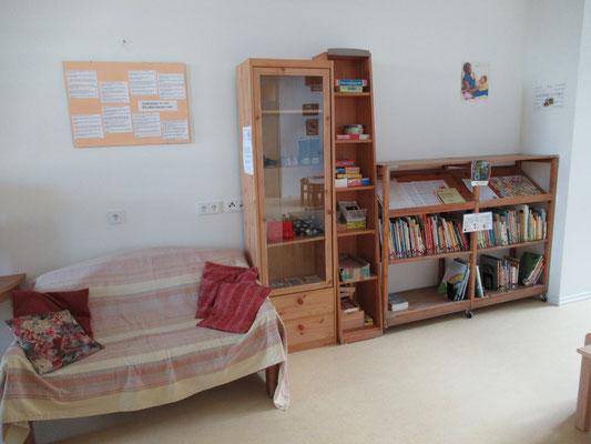 Tauschbox und Bibliothek