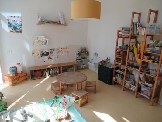 Atelier mit Trocken- und Nass-Bereich / Ele-Na