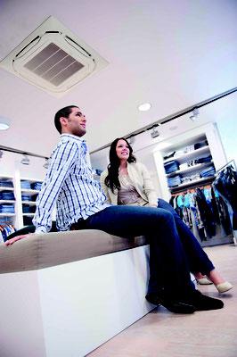 Klimaanlagen Bonn für Boutiquen