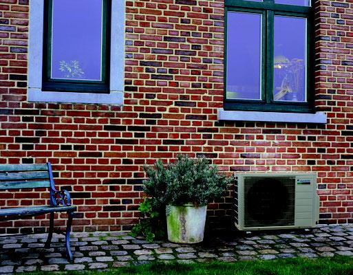 Klimaanlagen Außengerät Aufstellort