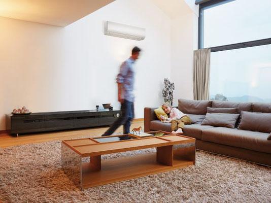 Wohnzimmer Klimaanlage