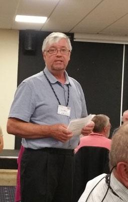 Alan Glover, président du Frome Twinning Association