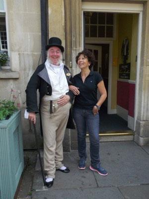 Visite de Bath - rencontre
