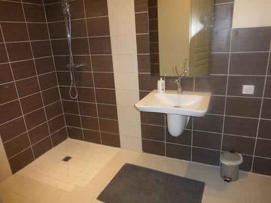 Salle de bain gîte de France La Source