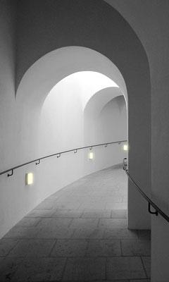 Auf dem Weg zur Kuppel (Frauenkirche Dresden), hochw. Fotoabzug 30x50 cm (limitierte Auflage) 125,- €