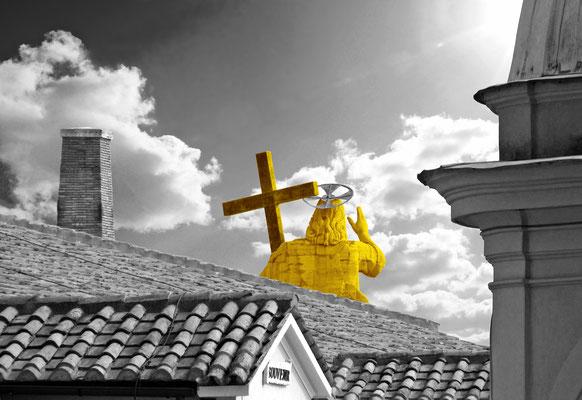 Dach des Abendlandes (Petersdom Rom), hochw. Fotoabzug 32x22 cm (limitierte Auflage) 95,- €