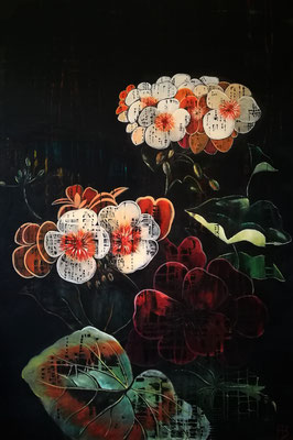 ALL BEAUTY MUST DIE II Acrylic on canvas 150 x 100 cm; 2017