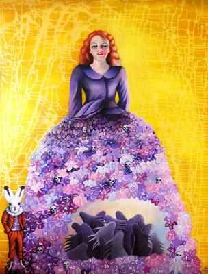 SCHATTENFÄNGER Acrylic on canvas 160 x 120 cm; 2013