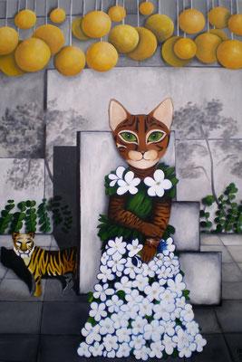 IM GARTEN Acrylic on canvas 130 x 90 cm; 2008