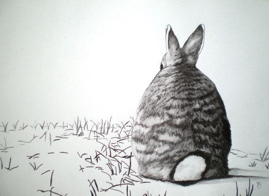 STILLE Graphite on paper, 21 x 29,5 cm; 2012 (sold)