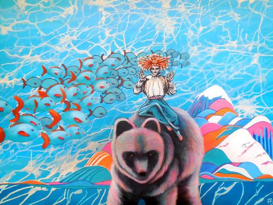 ZEHN Acrylic on canvas, 74 x 93 cm; 2014