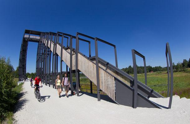 Rad- und Wanderwege entlang der Himmelsleiter