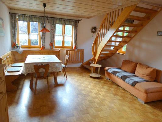 Ferienwohnung Hofblick - gemütliche Ferienwohnung über 2 Etagen