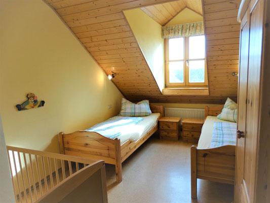 Ferienwohnung Gartenblick - Kinderzimmer