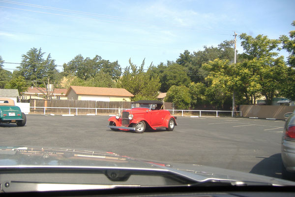 Bild: Hot Rod, California, HDW, Highway One