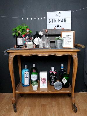 Gin Bar Kupfer