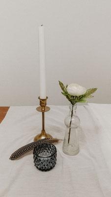 Mini-Boho-Vase, drei unterschiedliche Ausführungen, 0,75 €