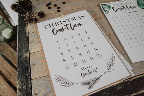 Freebie Christmas Countdown