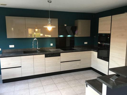 Nos r alisations de cuisines cuisines cloet lomme arras cuisines salle de bains - Modele de plan de travail cuisine ...