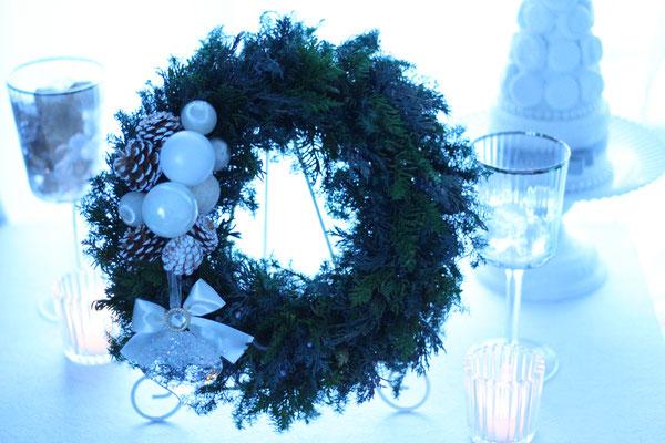 Ice Christmas -シーズンレッスン:2015年クリスマスアレンジ(プリザーブド)ー