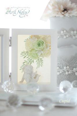 Cupid -結婚式を挙げる方へのギフト用フォトフレームー