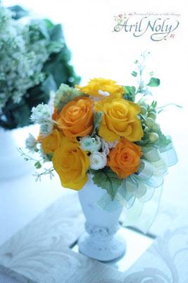 Bouquet Arrange -ブーケとしてもポットアレンジとしても楽しめる2wayタイプー