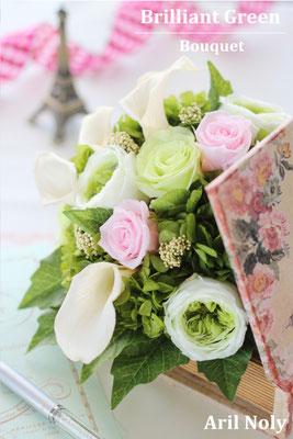 Brilliant Green Bouquet -結婚式を彩る爽やかなグリーンのブーケー