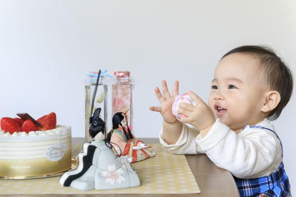 赤ちゃんも喜ぶ雛人形