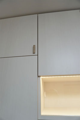 壁面収納 クローゼット 洋服収納棚 オーダー家具
